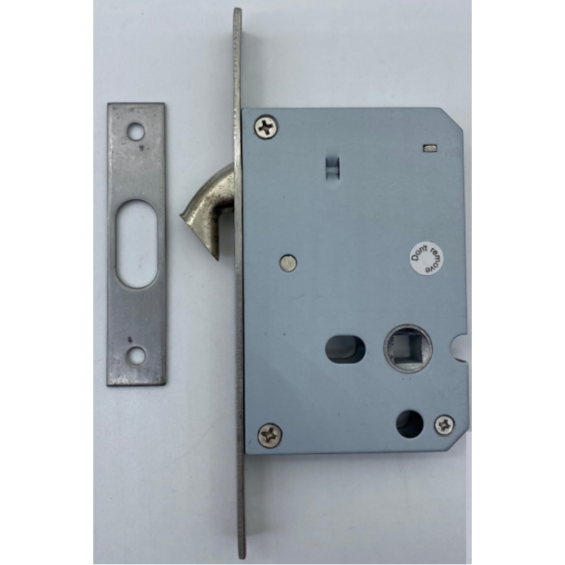 NT 648-ET BS50MM PRIVACY HOOK LOCK; SATIN STAINLESS STEEL