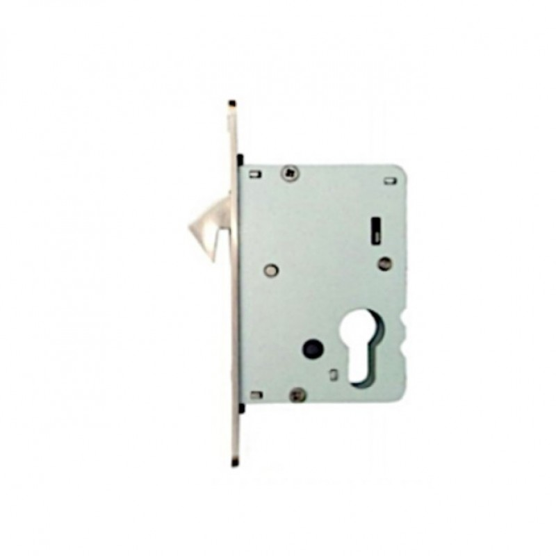 NT 648-ET BS50MM ENTRY HOOK LOCK; SATIN STAINLESS STEEL