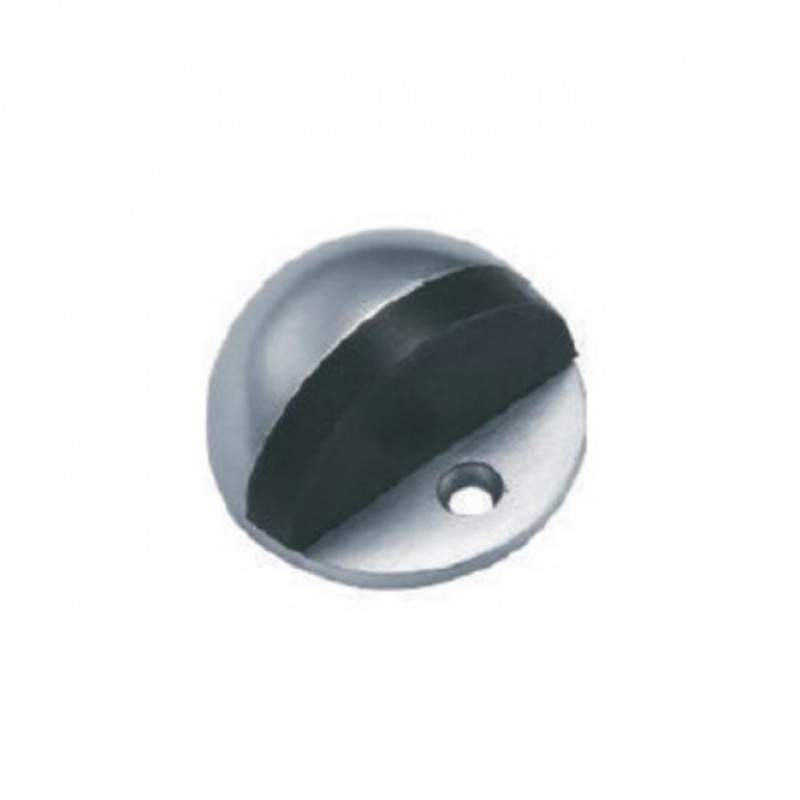 NT DS001 snp dome-shape dr stop (Black rubber)